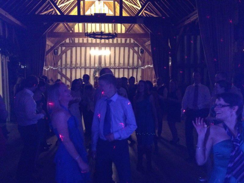 Wedding Guests At Little Wymondly Priory