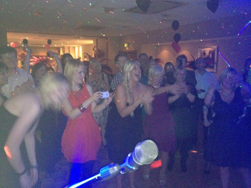 Packed Dancefloor At Sopwell House St Albans