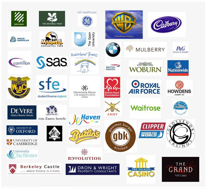 Some of the companies we have worked for