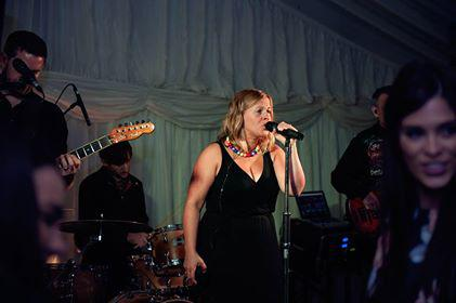 Party Band At A Marquee Wedding